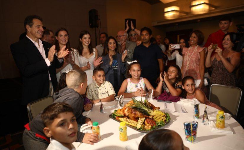 Cientos de niños, niñas y jóvenes celebran Acción de Gracias