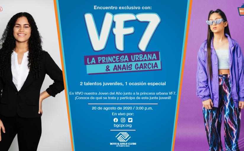 """Realizarán conversatorio virtual con VF7 """"la princesa urbana"""""""